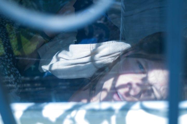 Emily in the sun