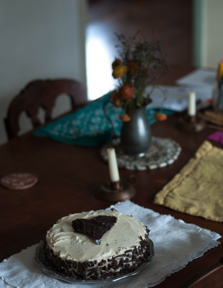 valentine cake by E